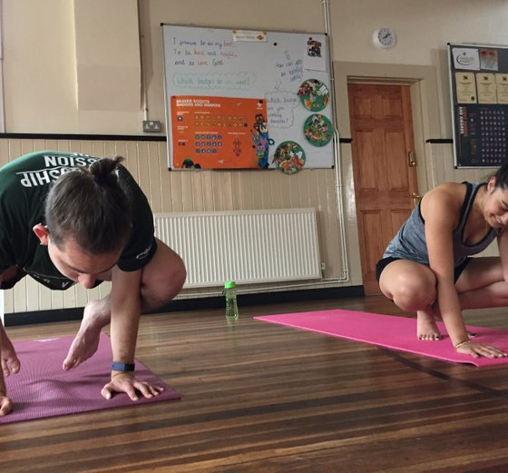 Youth yoga and teen yoga